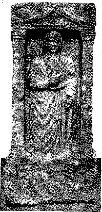 Рис. 3. Надгробие начала I в. н. э.