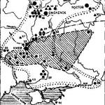 Рис. 86. Находки мечей эпохи викингов на территории Восточной Европы