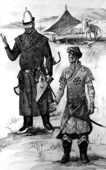 Рис. 5.6. Казахи XV—XVI вв. (по М.В. Горелику)