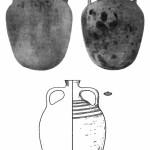Рис. 52. Средневековые амфоры с нефтью с Таманского полуострова