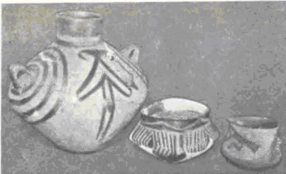 Расписная керамика из Хаджилара I и II.