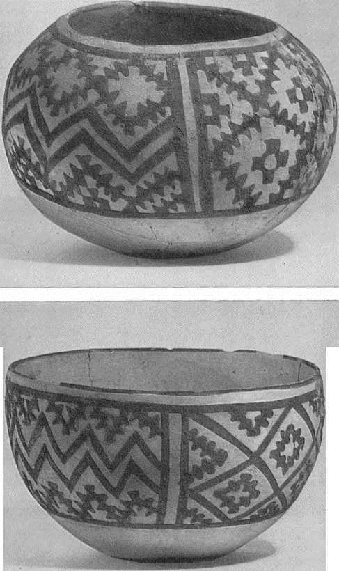 20, 21. Расписные чаши из Кара-тепе. Ангобированная глина III тыс. до н. э.