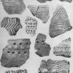 Рис. 2. Керамика неолитических и раннебронзовых поселений.