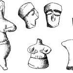 Рис. 31. Неолитические статуэтки, Фессалия. Но Уэйсу и Томпсону