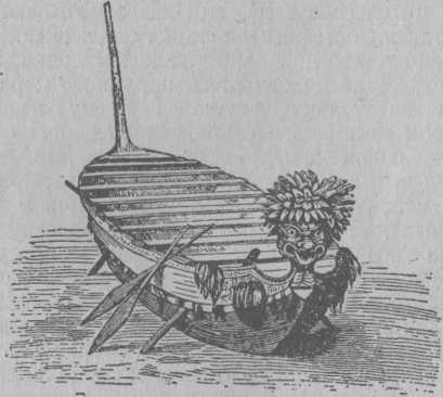Рис. 17. Военная лодка новозеландцев.