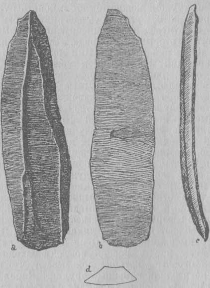 Рис. 1. Каменные ножи.