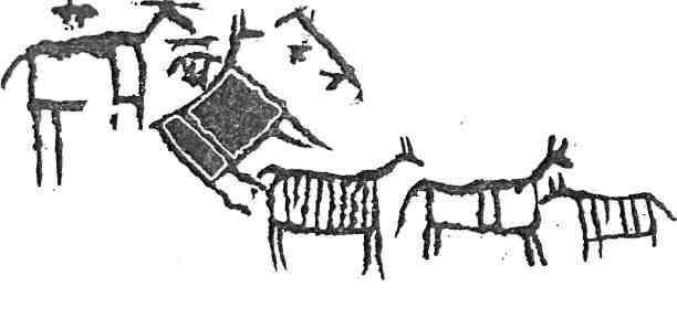 Рис. 100. Минусинская котловина. Оглахты III