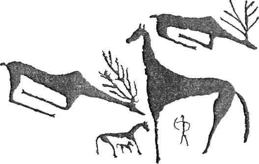 Рис. 27. Ферганская долина, окрестности г. Оша, Сурат-Таш