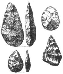 Рис. I. 9. Ашельские ручные рубила