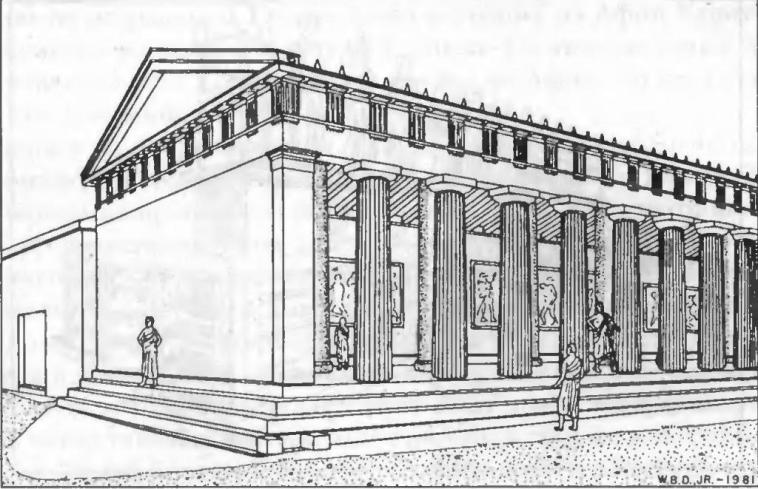 Пестрый портик реконструкция