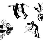 Рис. 3.24. Петроглифы эпохи бронзы (по А.А. Горячеву, А.Н. Марьяшеву, С.А. Потапову)