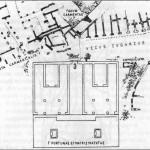Священный участок храма Св. Омобоно. План храма.