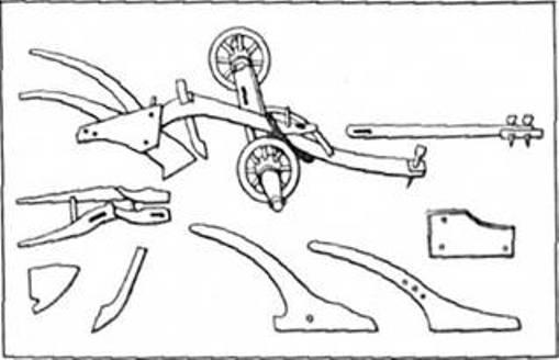 Рис.11. Середньовічний плуг