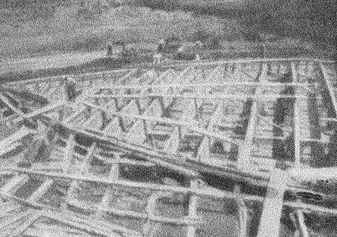 Рис. 11. Второй корабль, затонувший в оз. Неми (деталь)