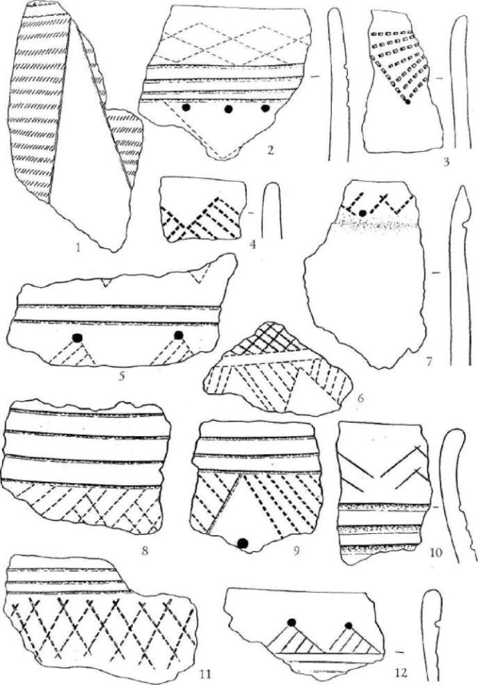 Рис. 5. Поселение Фирсово XVII. Керамика