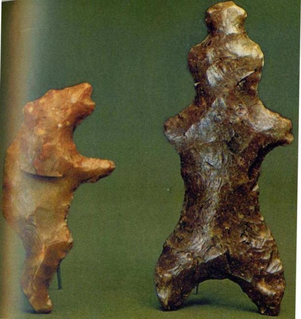Неолитические фигурки из камня
