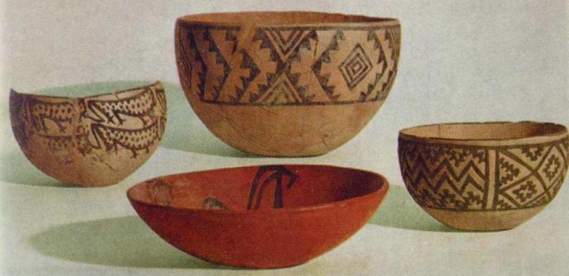 Керамическая посуда, культура анау