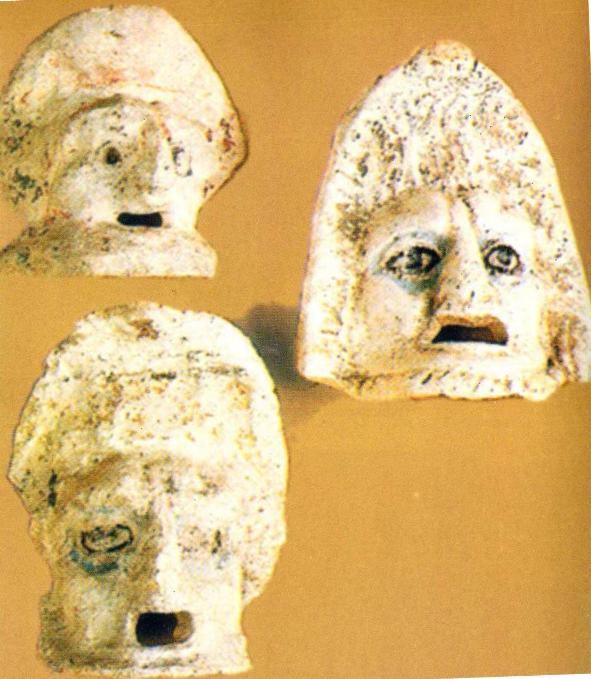 Античные театральные маски