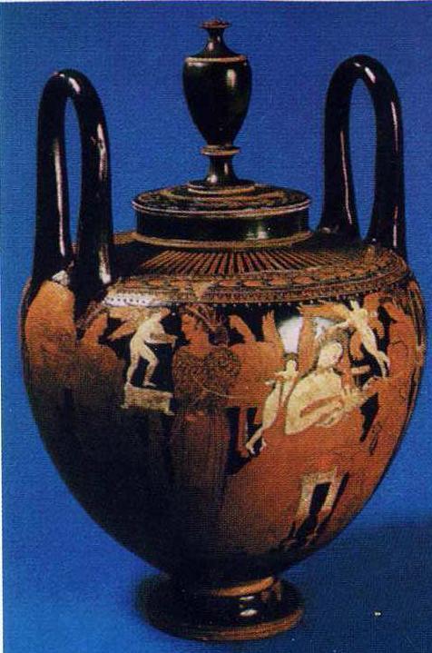 Античная ваза (кальпида), IV в. до н.э.