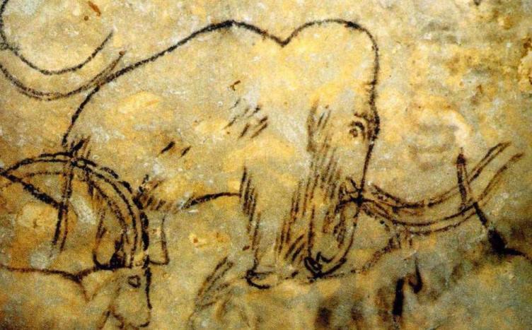 Мамонт из пещеры Рофиньяк, Франция