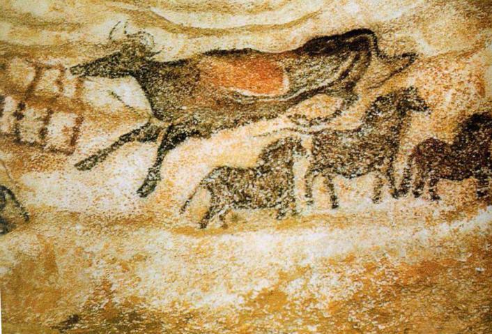 Изображения из пещеры Ляско, Франция