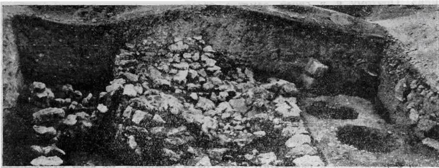 Рис. 6. Городская стена Неаполя Скифского с востока