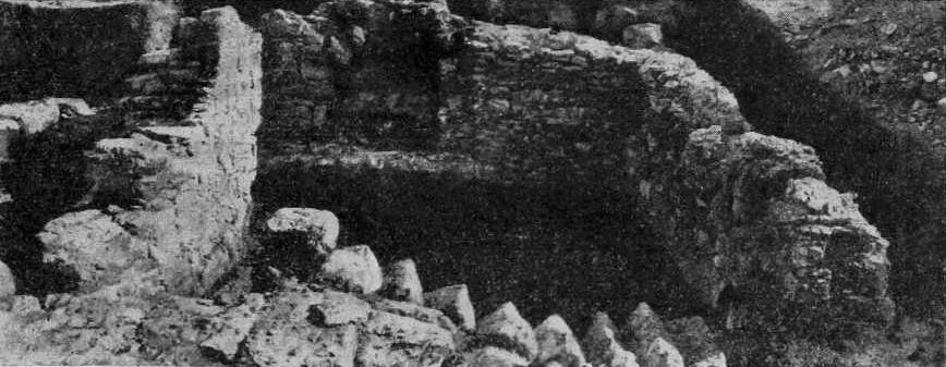 Рис. 7. Неаполь Скифский. Вид мавзолея с запада
