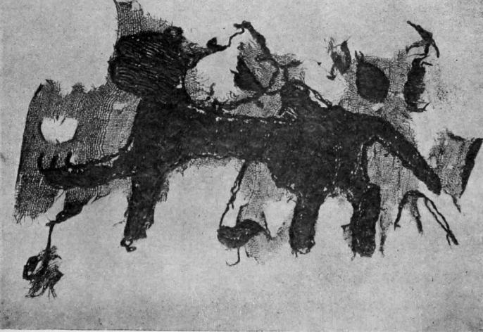 Рис. 33. Вышивка с изображением пантеры