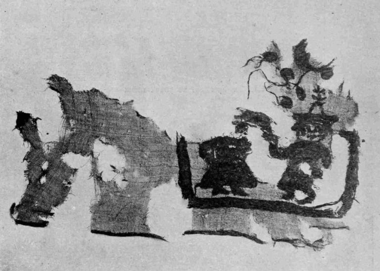 Рис. 34. Вышивка с танцующими фигурками