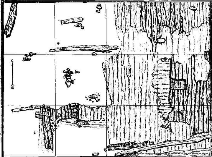 Рис. 43. План раскопа № 1