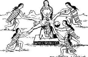 Человеческое жертвоприношение в древней Мексике