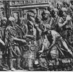Рельеф колонны Траяна. Сцена жертвоприношения