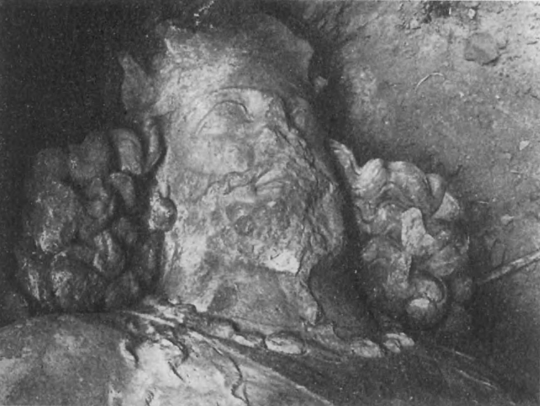 82. Голова статуи Шапура 1 из Бишапура