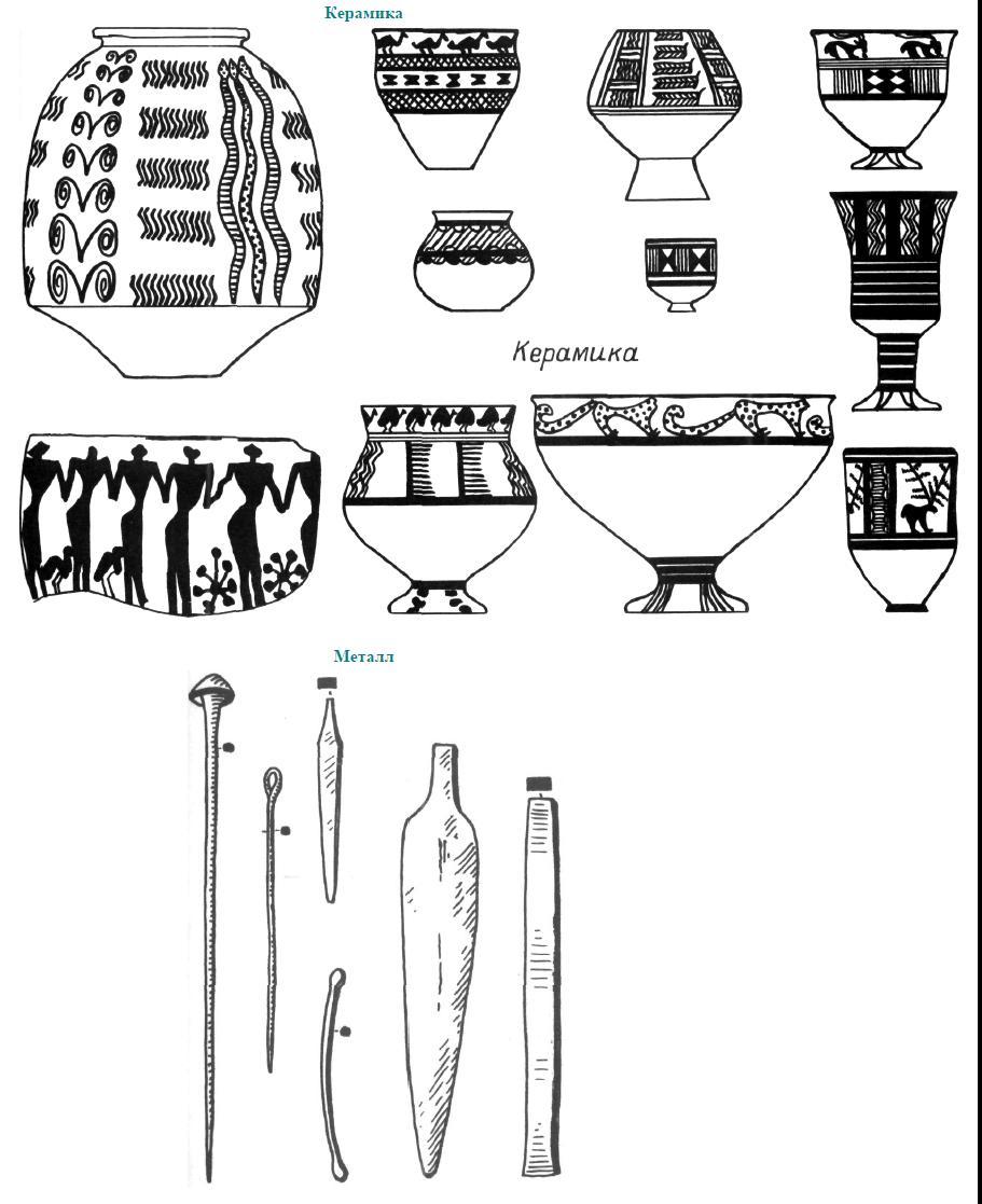 Рис. 32. Комплекс Сиалк III.