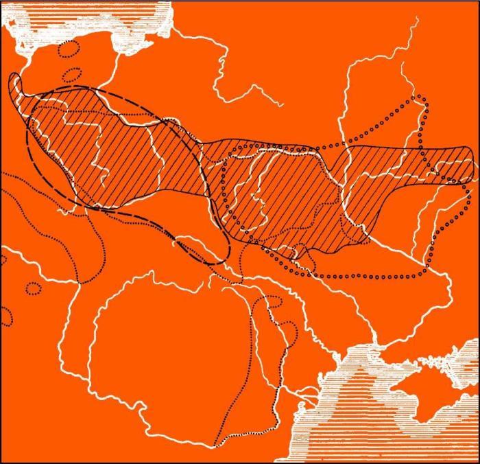 Первичные праславяне во второй половине IIтысячелетия до н.э. (тшинецкая и комаровская культуры)