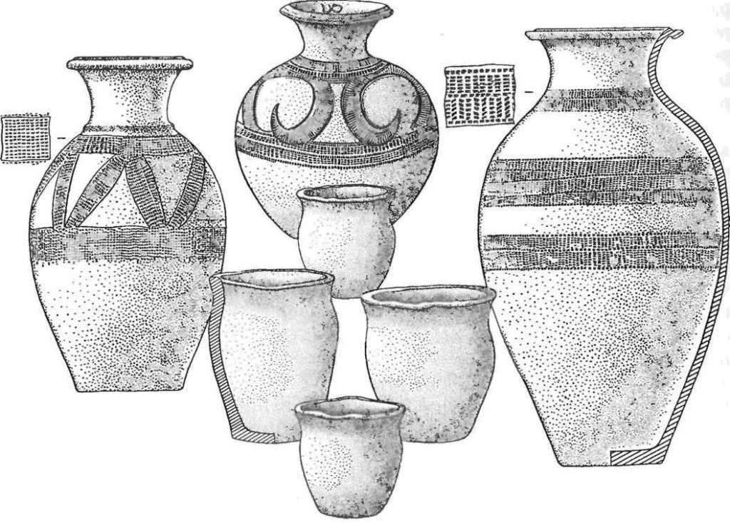 Кыргызские вазы и баночные сосуды