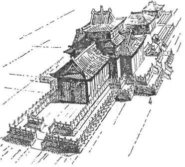Реконструкция Кондуйского дворца. Забайкалье.