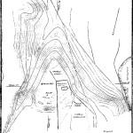 Рис. 44. План городища Старого Изборска