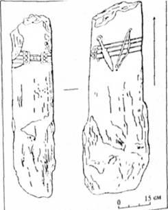 Рис. 3. Кіммерійська стеля (за В. М. Корпусовою і В.П. Білозором)