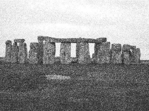 Рис. 50. Мегалитическое святилище Стоунхендж, III-II тыс. до н. э., Британия.