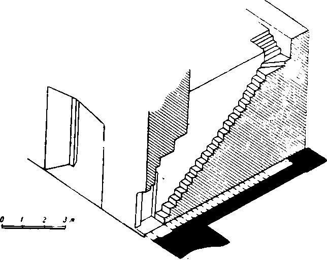 Рис. 45. Суздаль. Рождественский собор. Лестница на хоры.