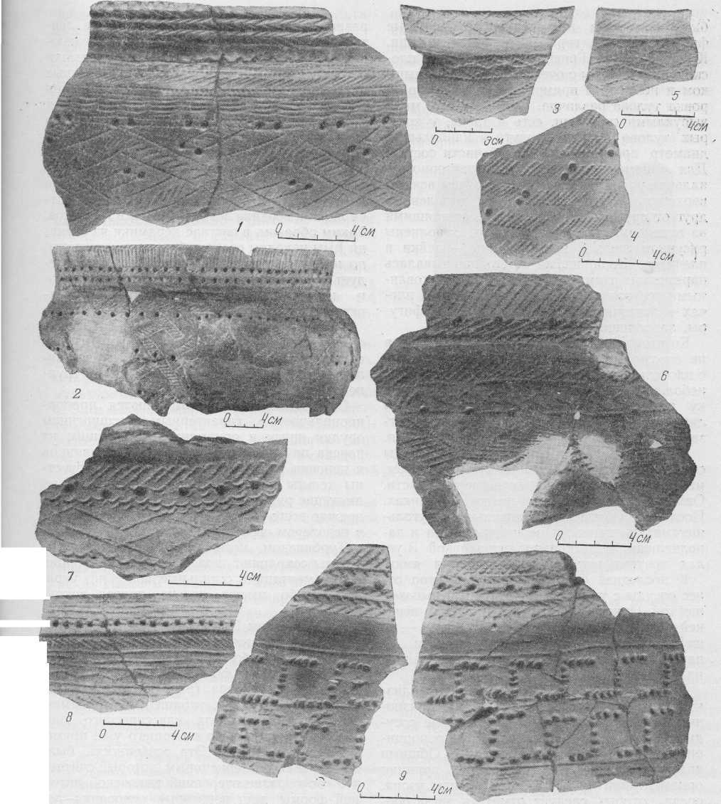 Табл. IV. Сузгунская керамика.