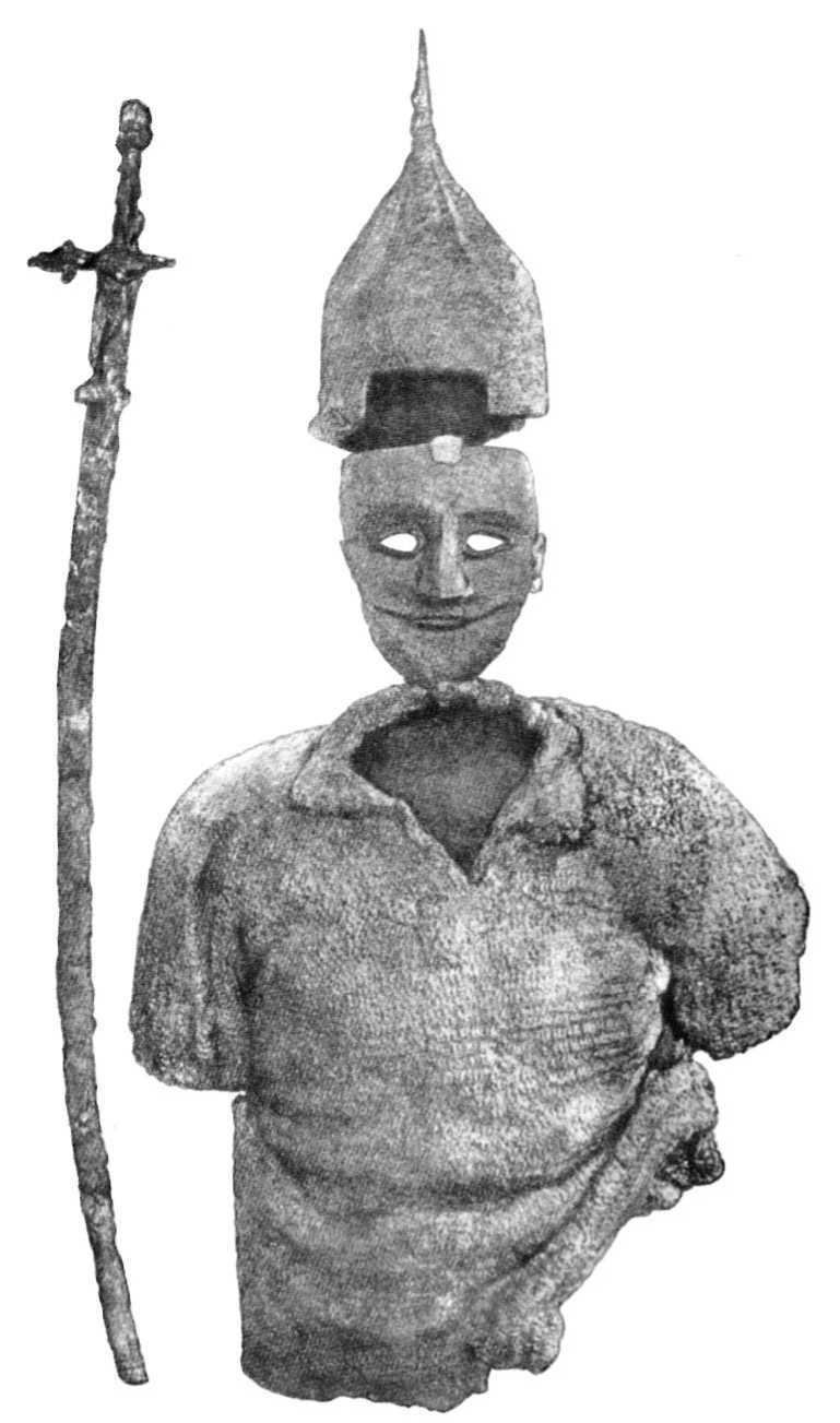 Таблица III. Вооружение, найденное в кургане около с. Ковали.