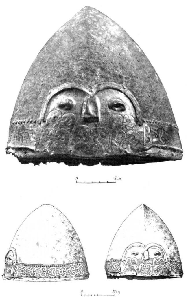 Таблица IX. Шлем XI в. Немия (№ 2).