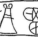Табличка линейного письма Б из Кносса. Перечень боевых колесниц