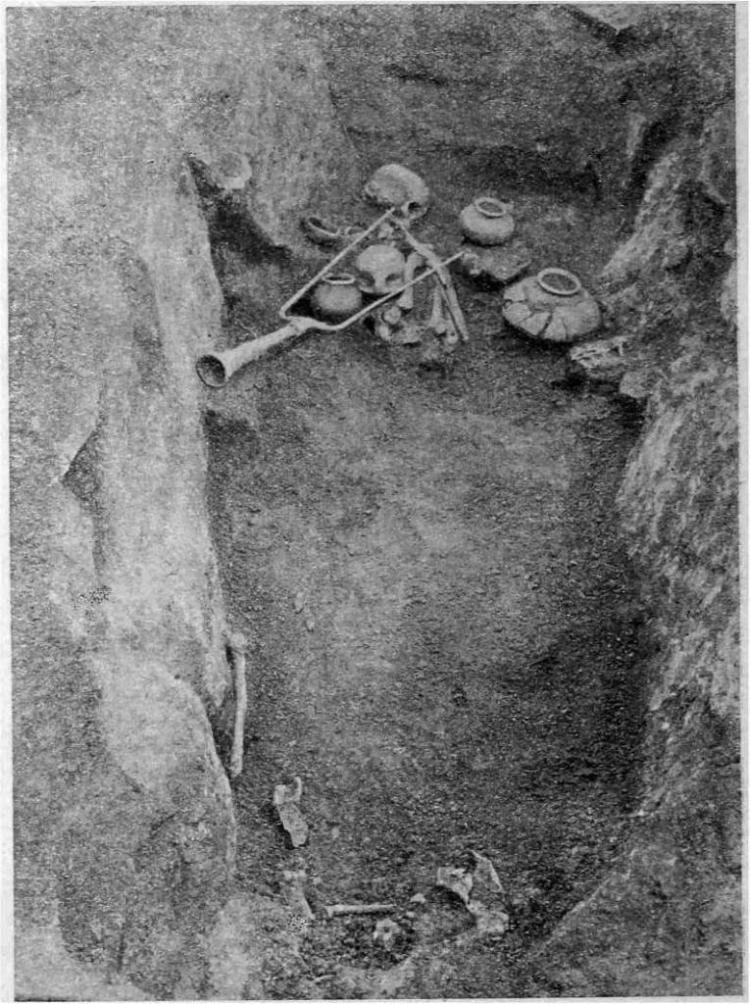 Рис. 8. Погребение № 35 Так-Килисинского могильника.