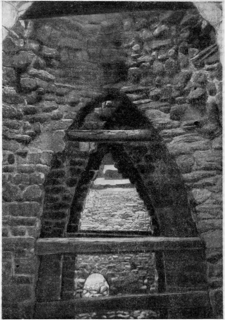 Рис. 51. Храм Тхаба-Ерды. Внутренний вид (Фото М. В. Фехнер)