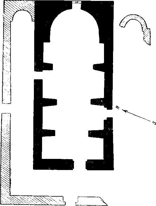 Рис. 50. План храма Тхаба-Ерды близ сел. Хайрах