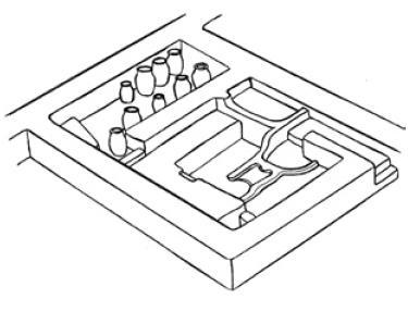 Рис. 6.25. Городское жилище VII—VIII вв.