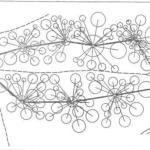Рис. 118. Съемка плана полярным способом и буссольный сомкнутый ход (по М.Н. Кислову)